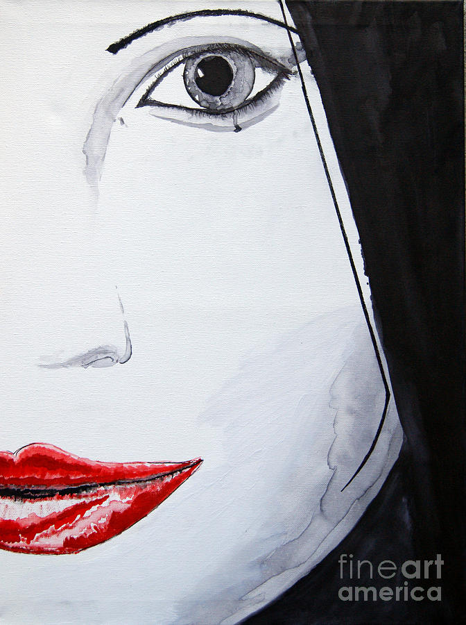 Artwork Painting - Beauty by Michael Rados