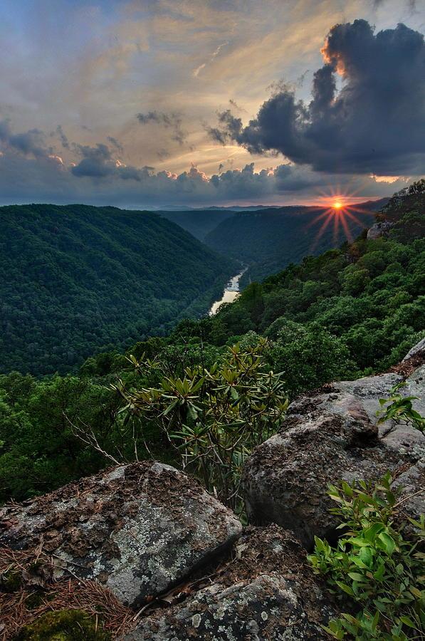 Beauty Mountain Sunset Photograph by Jeff Burcher