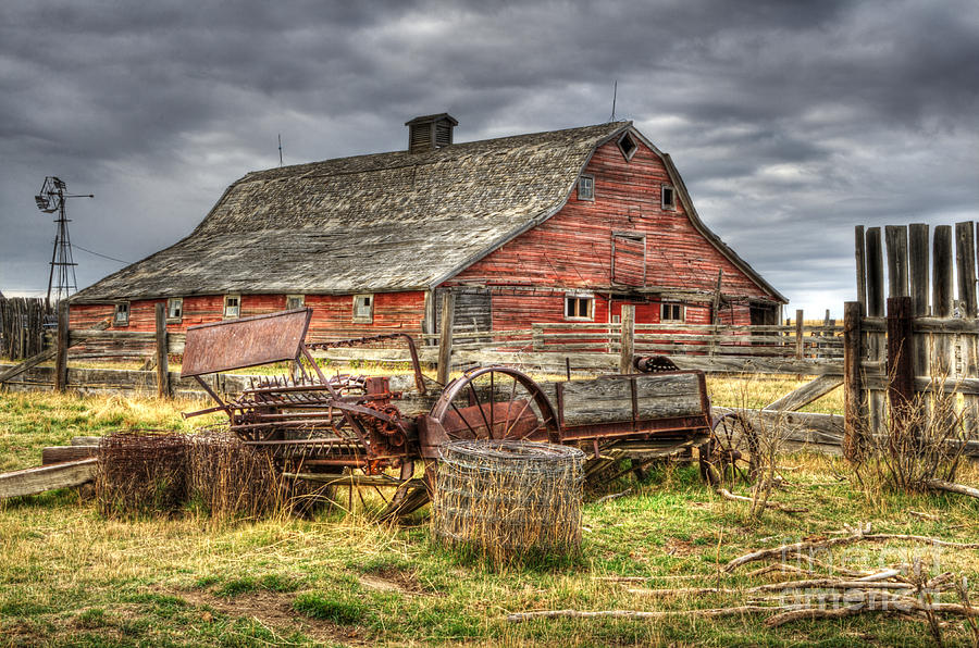 Beauty Of Barns 9 Photograph By Bob Christopher