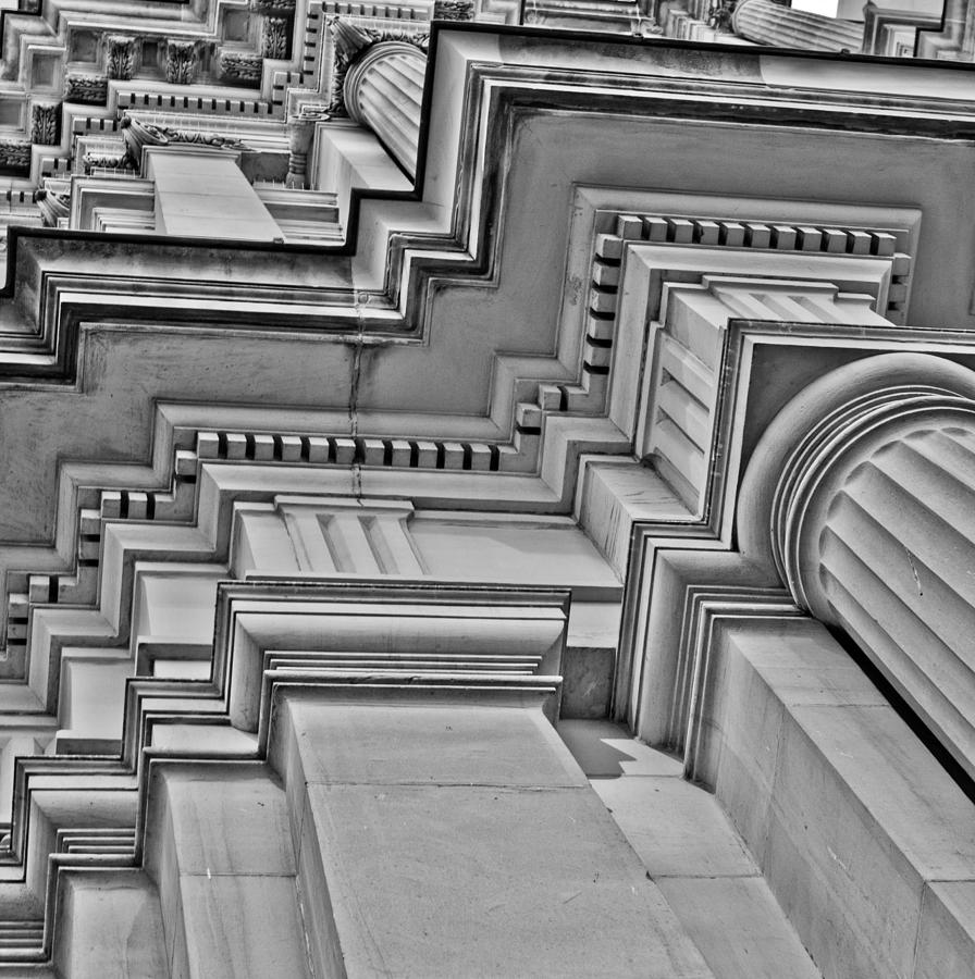 Cast Stone Photograph - Beauty Of Cast Stone Moulding by Mamie Thornbrue