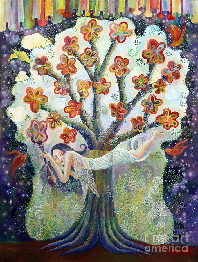 Beauty Painting - Beauty Of Tree by Manami Lingerfelt