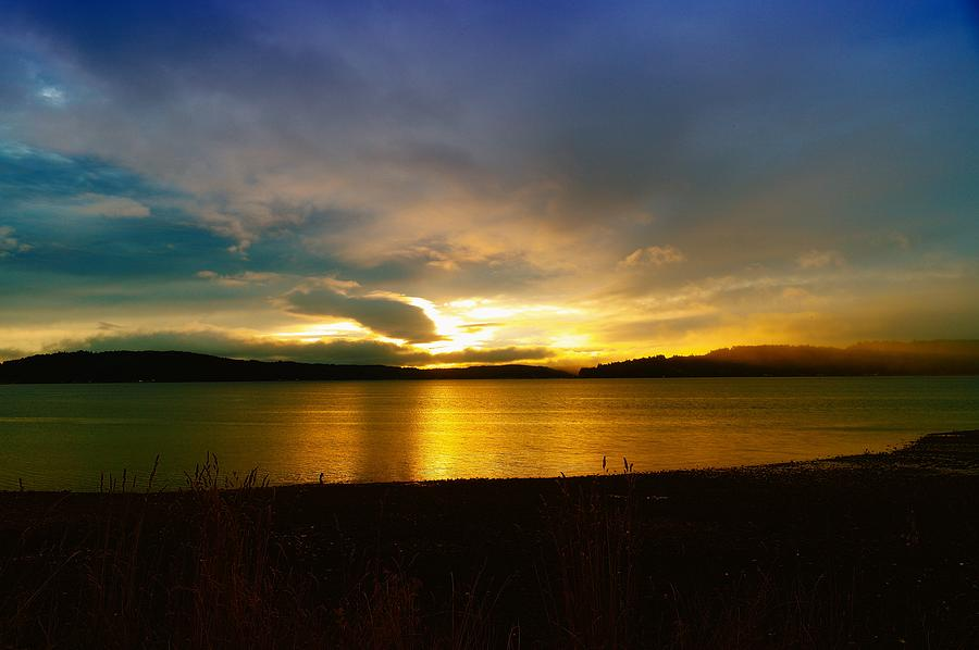 Hood Canal Photograph - Beauty Rising by Jeff Swan