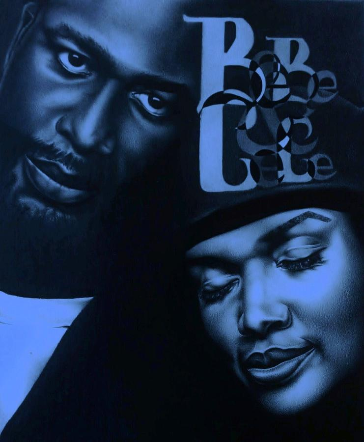 Bebe & Cece Winans Drawing - Bebe And Cece Winans Relationships by Carl Baker