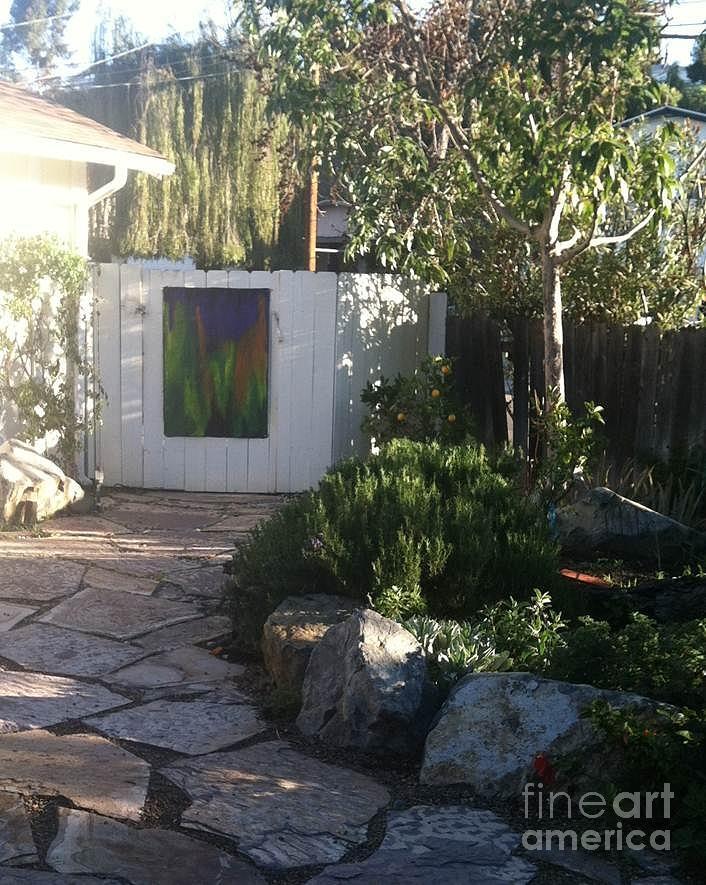 Garden Painting - Bebes Garden by Bebe Brookman