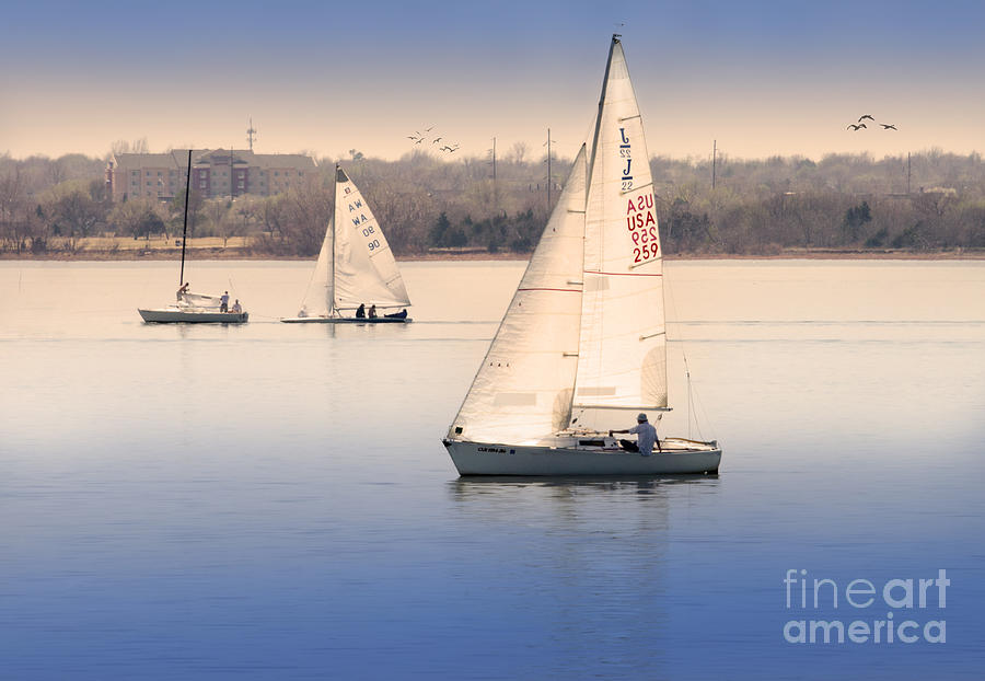 Sailing Photograph - Becalmed by Betty LaRue