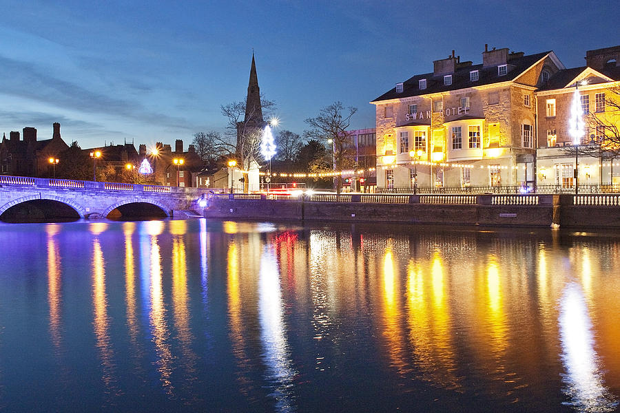 Bedford Lights Photograph by Graham Custance Photography