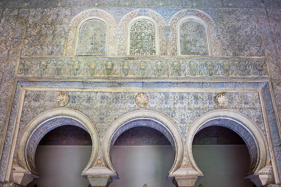 Seville Photograph - Bedroom Of The Moorish Kings In Real Alcazar by Artur Bogacki
