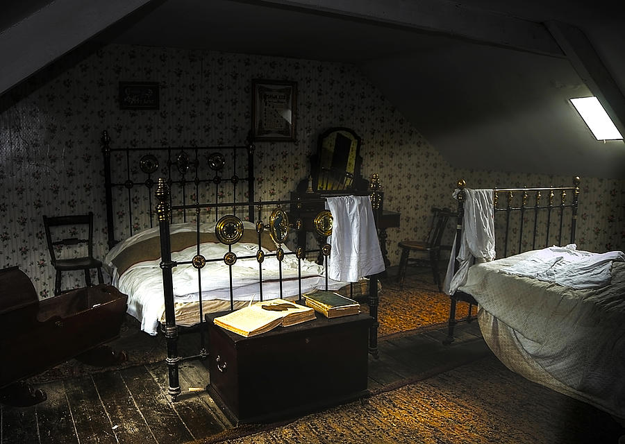Beamish Photograph - Bedroom by Svetlana Sewell