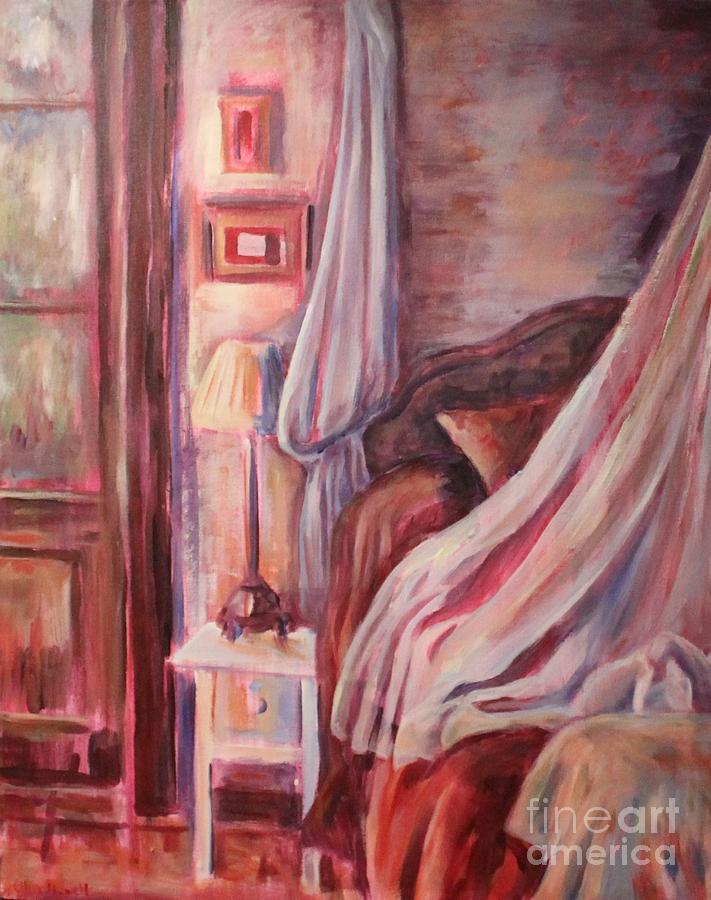 Hammond Painting - Bedside Lamp by Ellen Howell