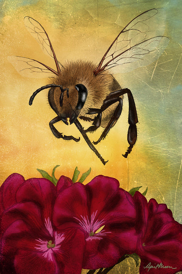 Bee I by April Moen
