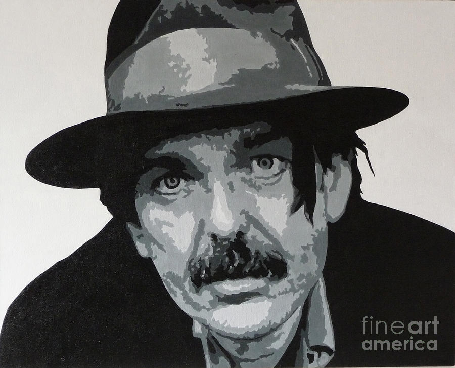 Captain Beefheart Painting - Beefheart by ID Goodall
