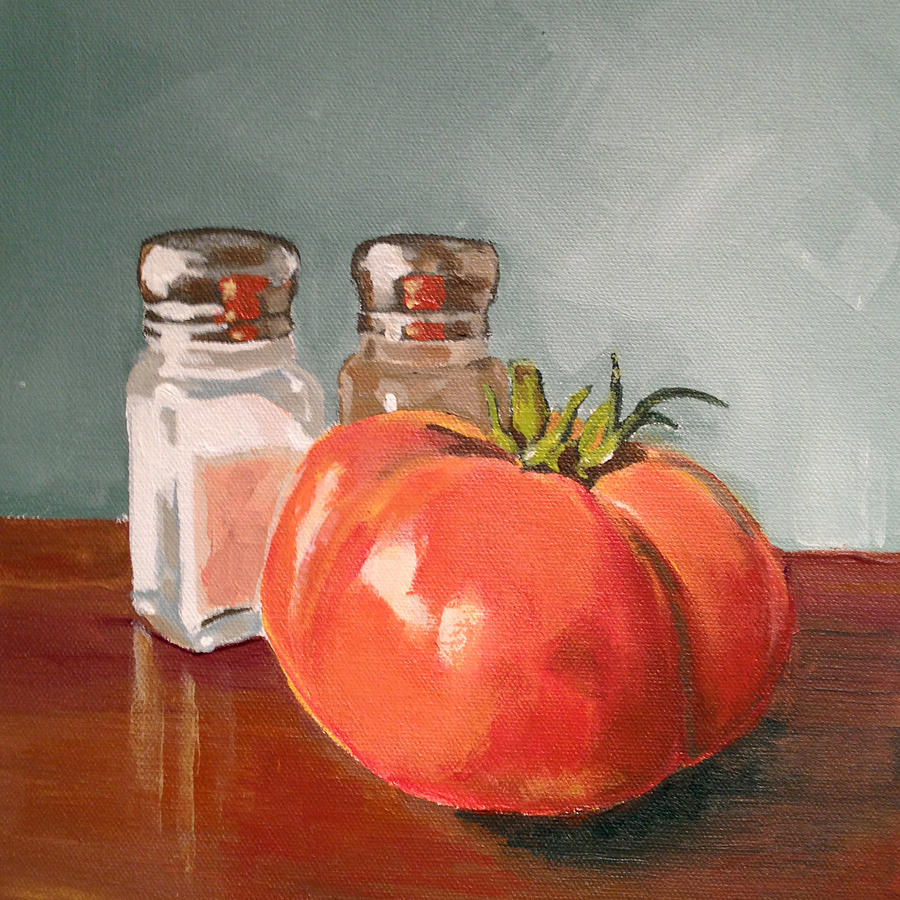 Tomato Painting - Beefmaster by Jeffrey Bess