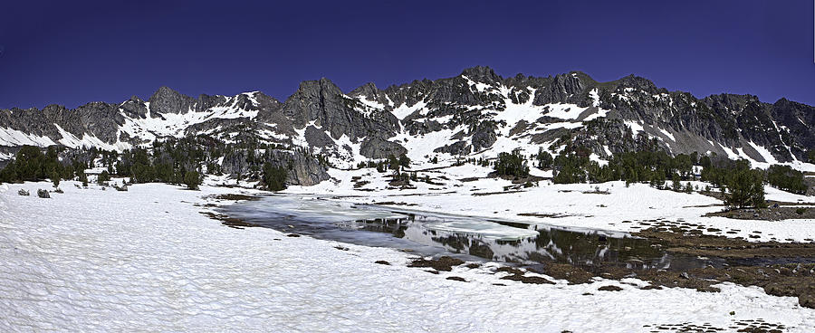Snow Photograph - Beehive Basin by Mark Harrington
