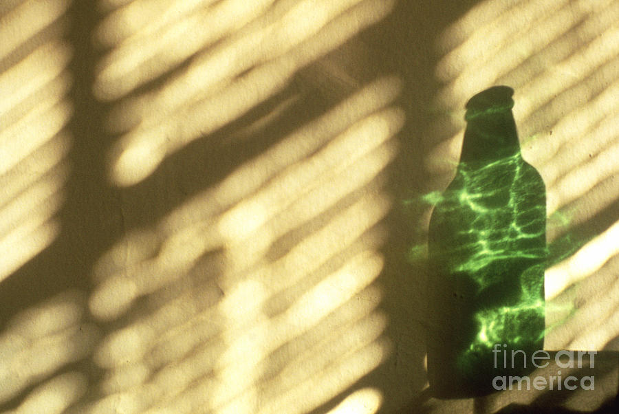 Abstract Photograph - Beer Bottle by Tony Cordoza