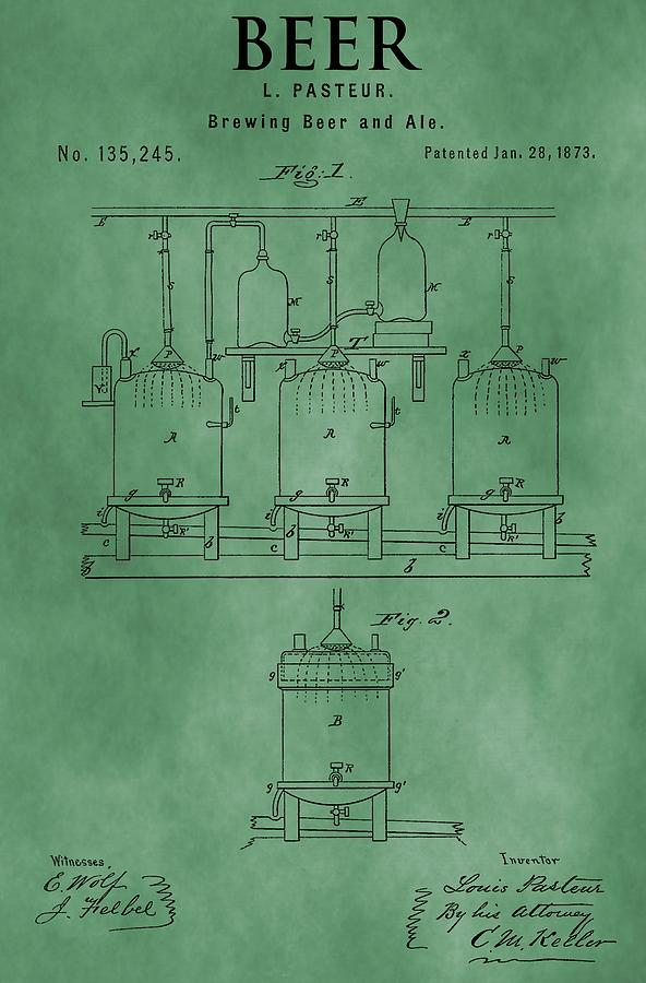 Brewing Beer Mixed Media - Beer Brewing Apparatus by Dan Sproul