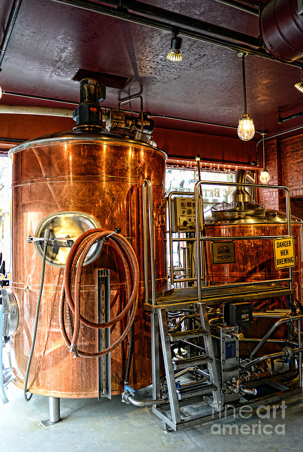Paul Ward Photograph - Beer - The Brew Kettle by Paul Ward