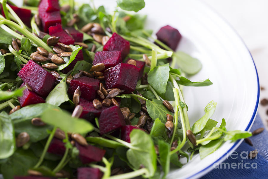 Beetroot Salad Photograph