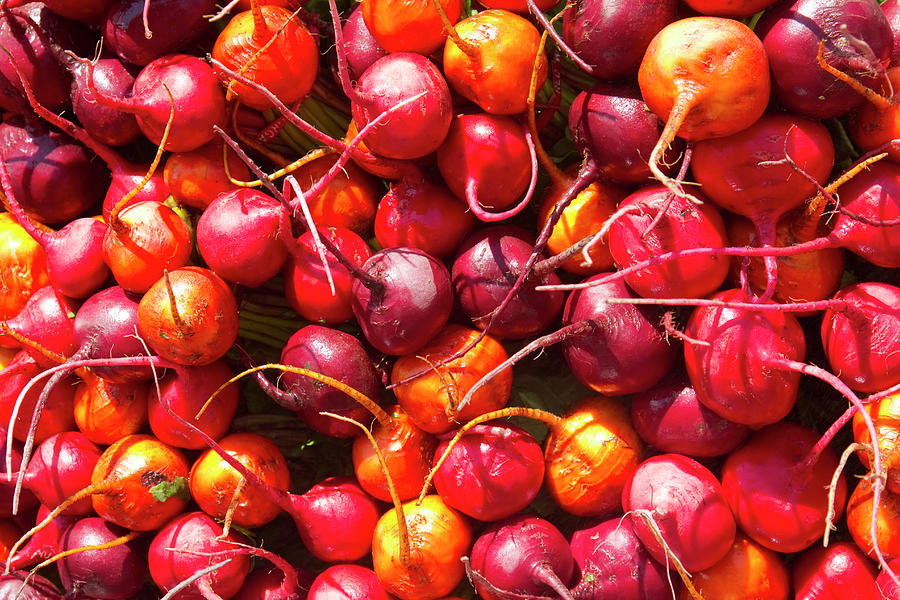 Beets At A Farmers Market, Boulder Photograph by James Gritz