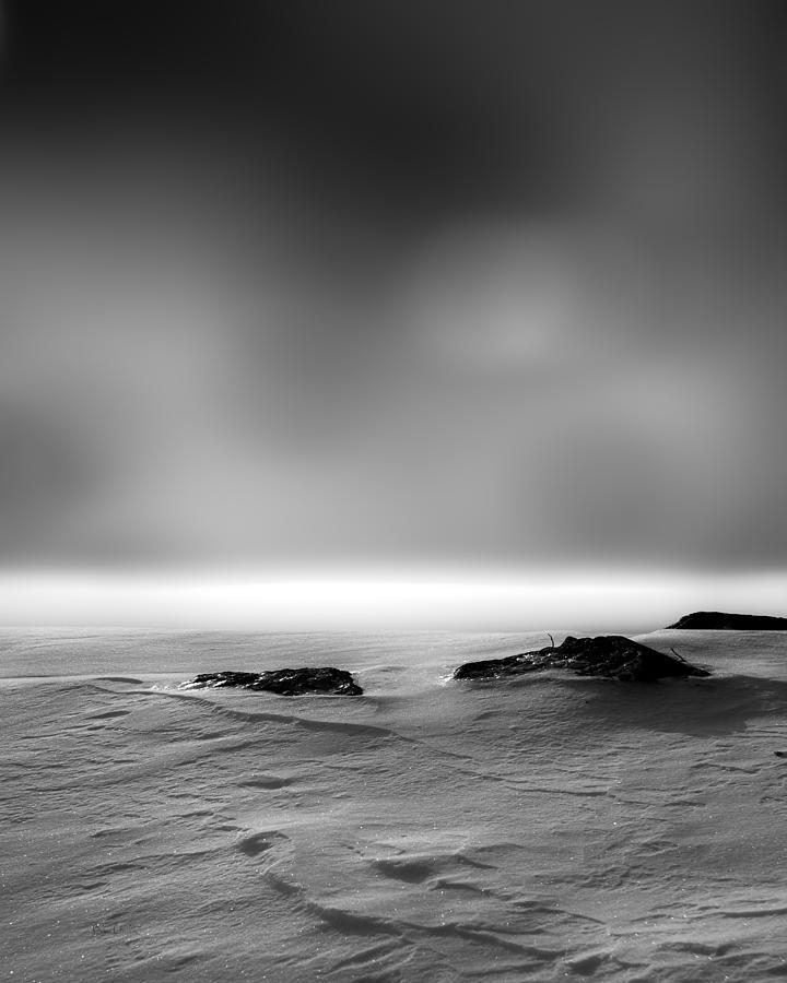 Winter Photograph - Before Sunrise by Bob Orsillo