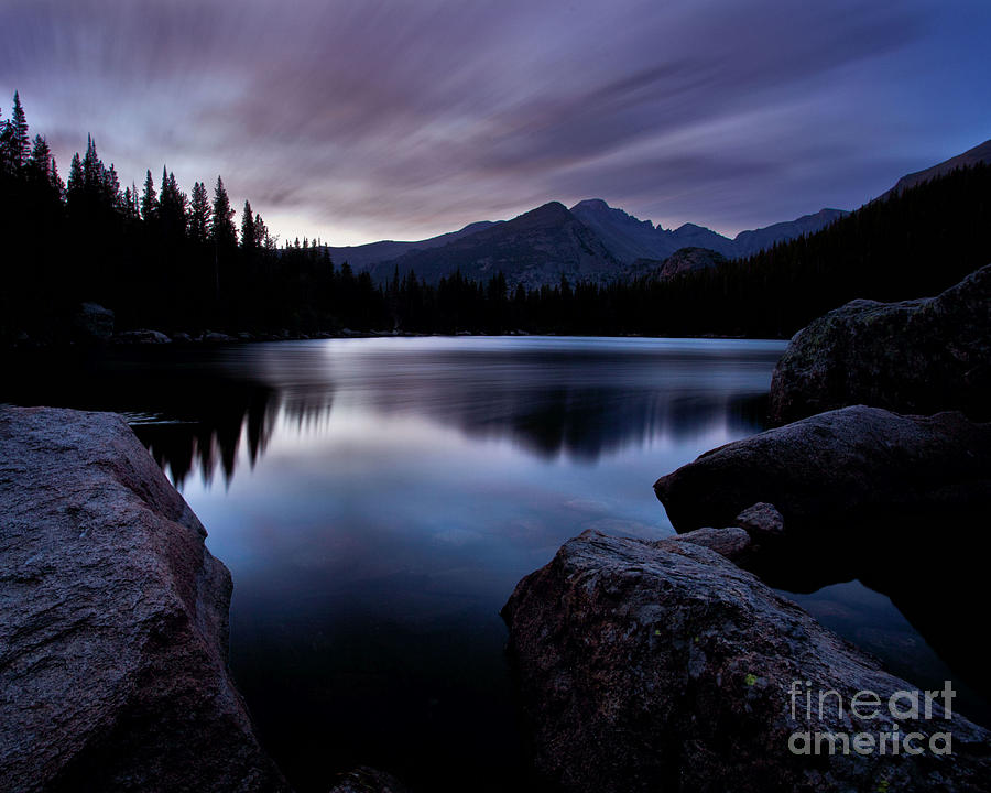 Landscape Photograph - Before Sunrise by Steven Reed