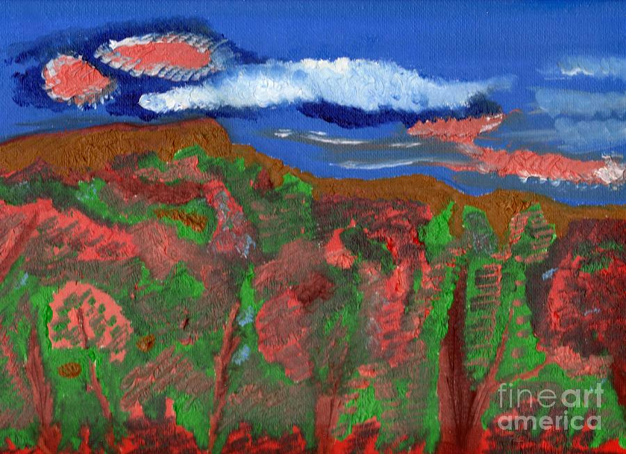 Mountains Painting - Before The Fall by Robert Garris