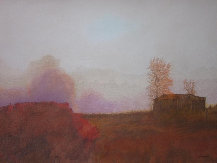 Pastel Painting - Before The Sun Breaks  by Harvey Rogosin