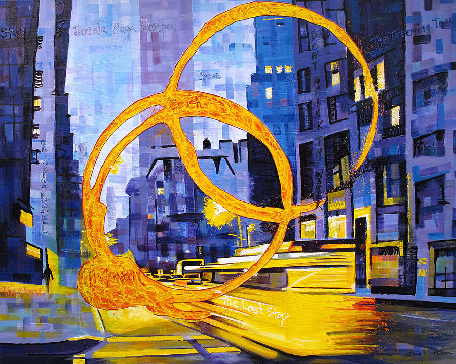 Dave Matthews Painting - Before These Crowded Streets by Joshua Morton