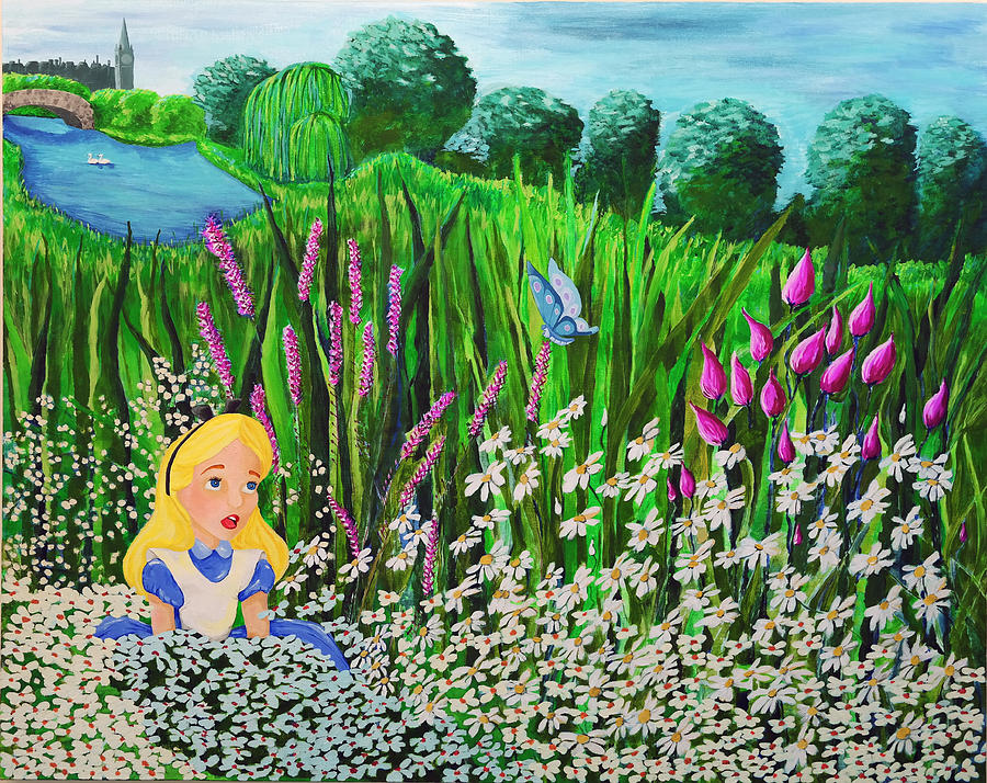 Landscape Painting - Before Wonderland by Dennise Heckman