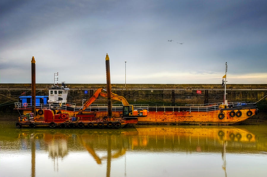 Anchored Photograph - Before Working Day by Svetlana Sewell
