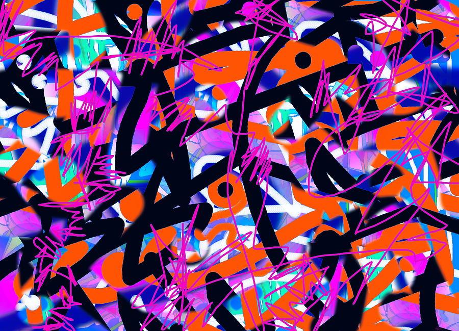 Lines Digital Art - Begin Anew  by Expressionistart studio Priscilla Batzell