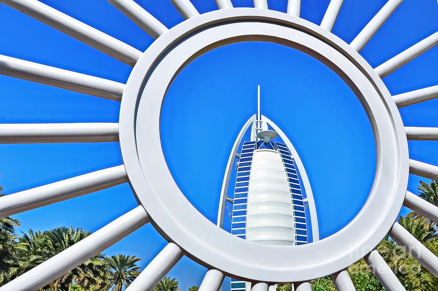Burj Al Arab Photograph - Behind Bars by George Paris