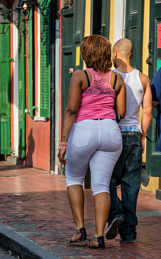 French Quarter Photograph - Behind Every Man... by Steve Harrington
