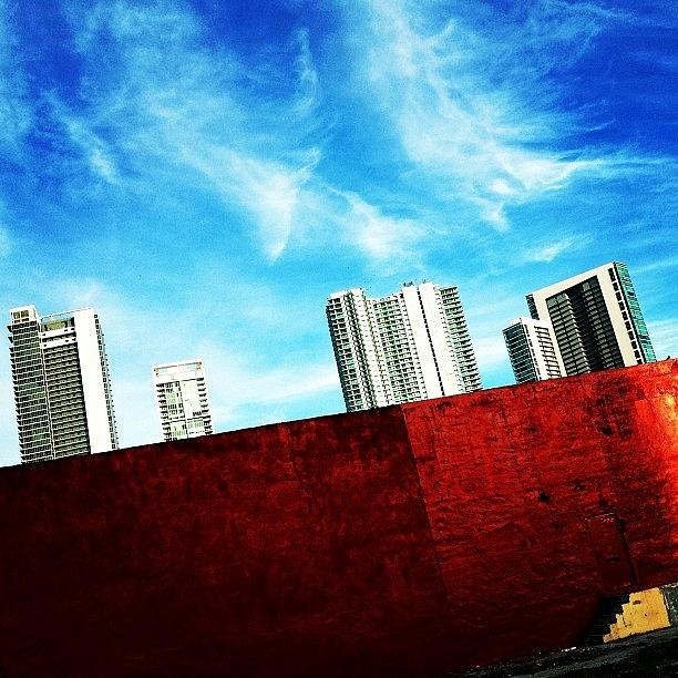 Igers Photograph - Behind Miamis Glamorous Skyline by Joel Lopez