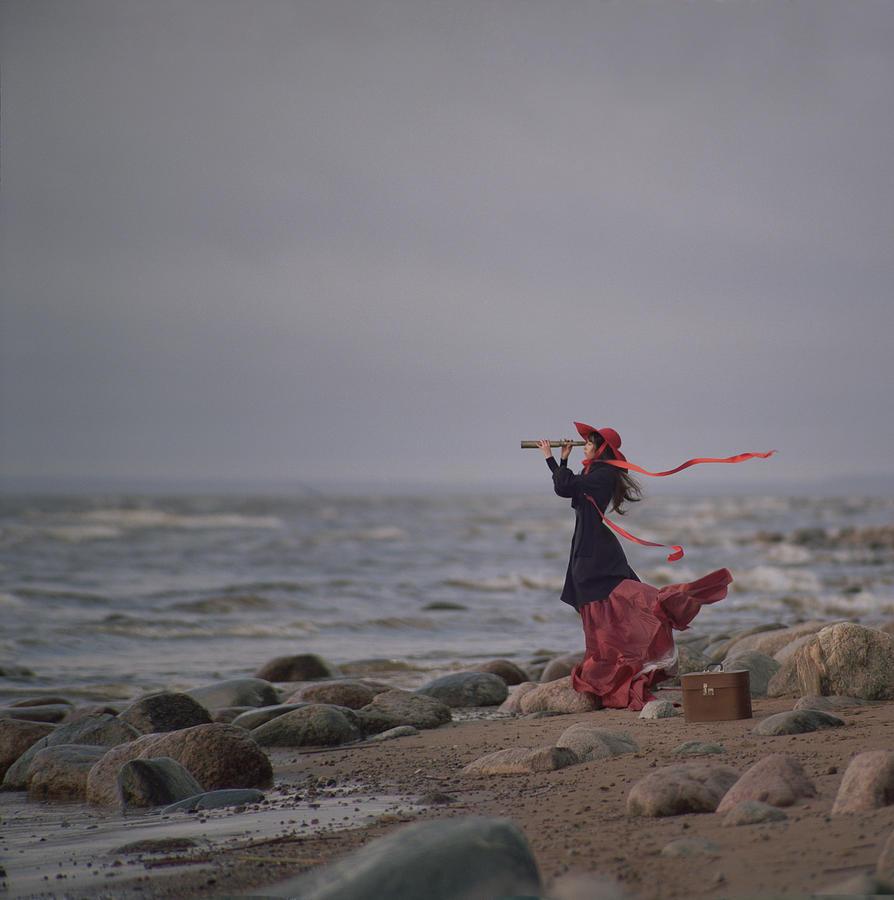Landscape Photograph - Behind the horizone by Anka Zhuravleva