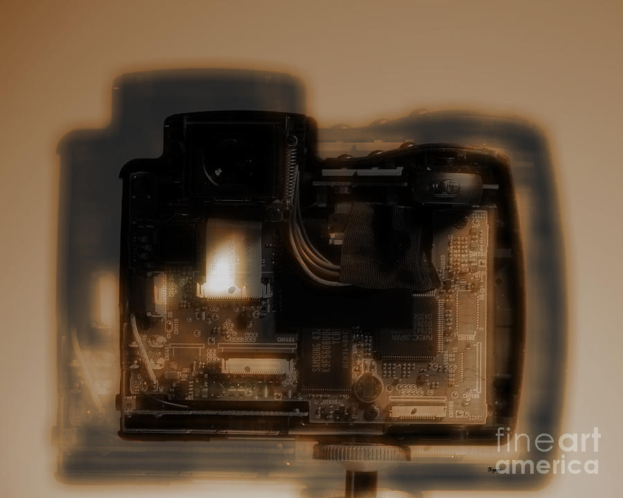 Camera Photograph - Behind The Lens  by Steven Digman