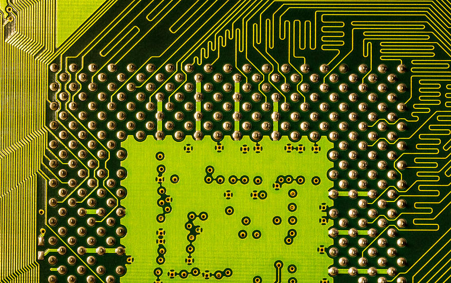 Processor Photograph - Behind The Processor Socket by Janne Mankinen