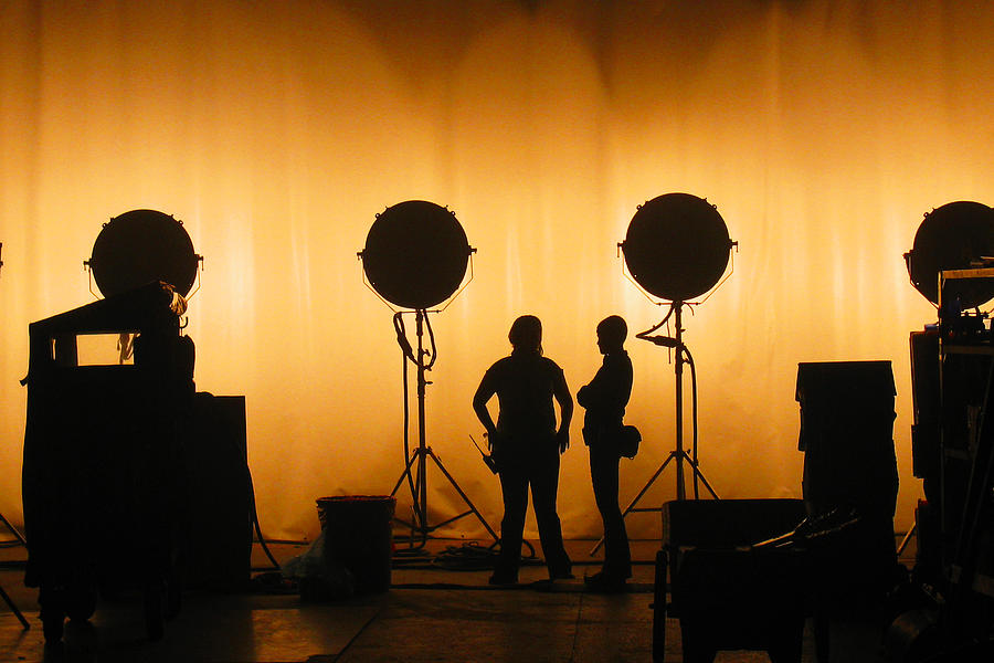 Behind The Scenes Photograph - Behind The Scenes by Lesley DeHaan