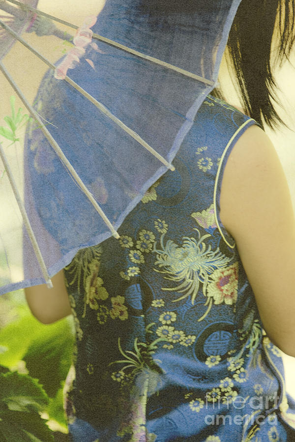 Behind The Umbrella Photograph by Margie Hurwich