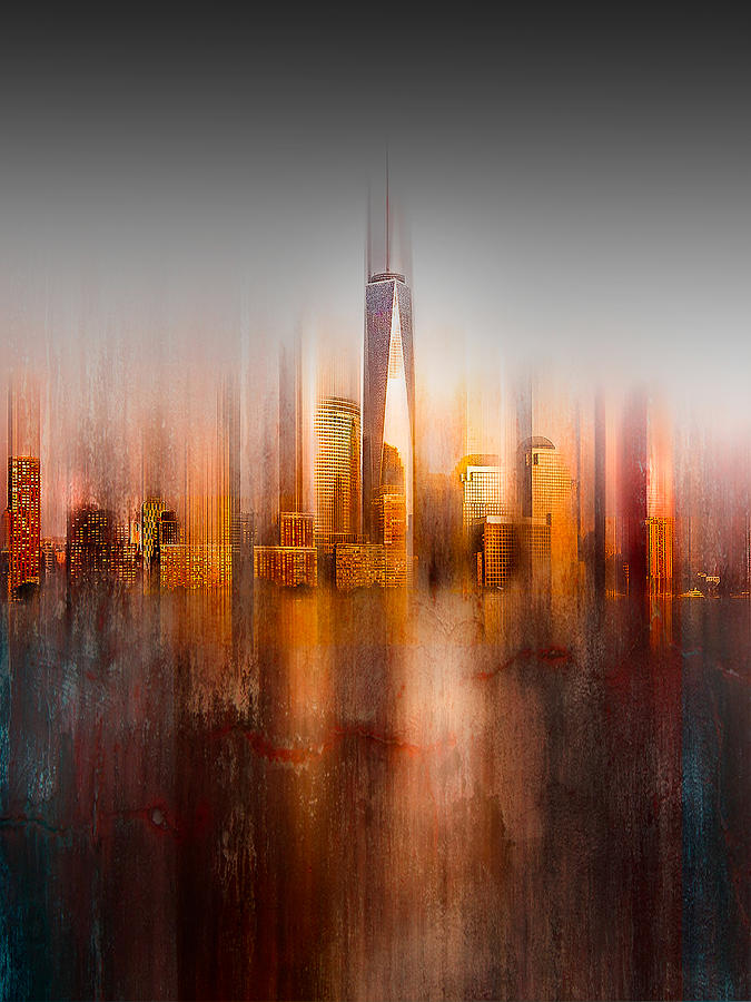 Abstract Photograph - Behind The Window by Carmine Chiriac?