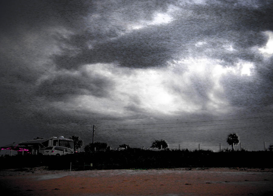 Storm Photograph - Being There by Christy Usilton
