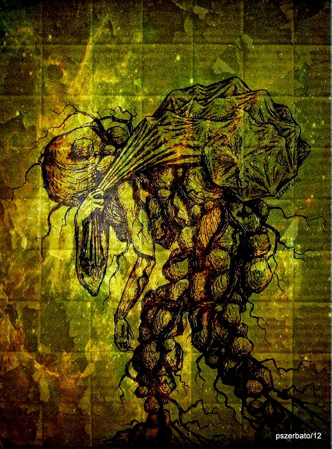 Rationalism Digital Art - Beings Incapable Of Deep Feelings Of The Human Condition by Paulo Zerbato