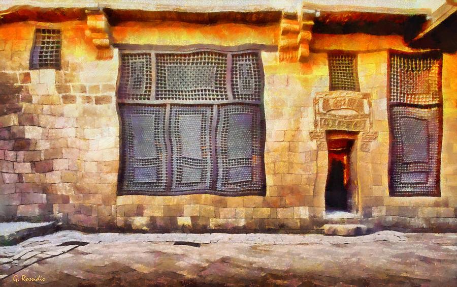 Rossidis Painting - Beit El Harrawi by George Rossidis