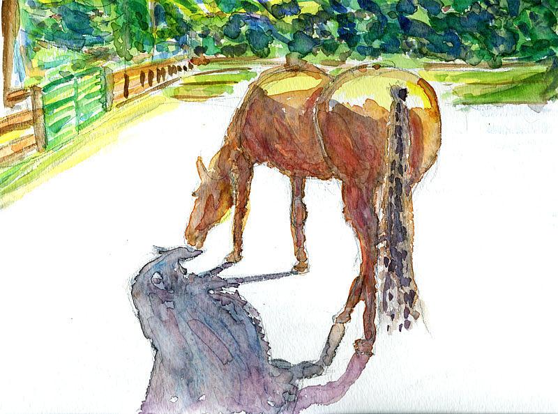 Bellevue Painting - Bel Red Bridle Trails Neighborhood 2 by Allen Forrest