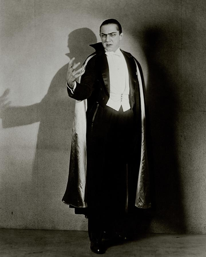 Bela Lugosi As Dracula Photograph by Florence Vandamm