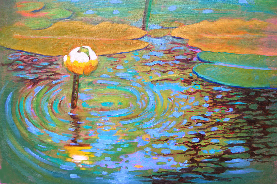 Lily Painting - Belchertown Lily by Susi Franco