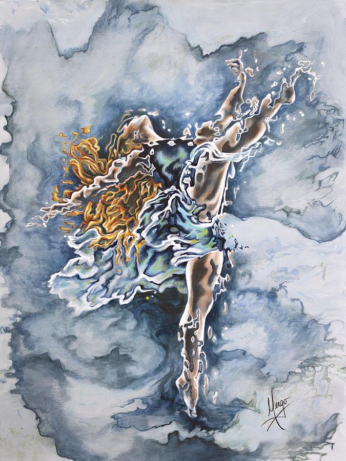 Ballet Painting - Believe by Karina Llergo
