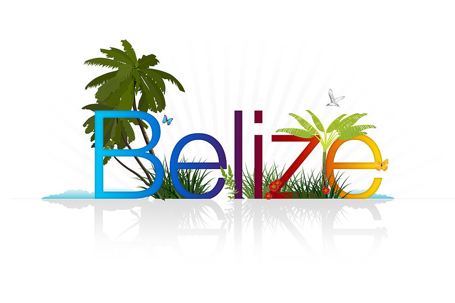 Belize Drawing - Belize by Aged Pixel