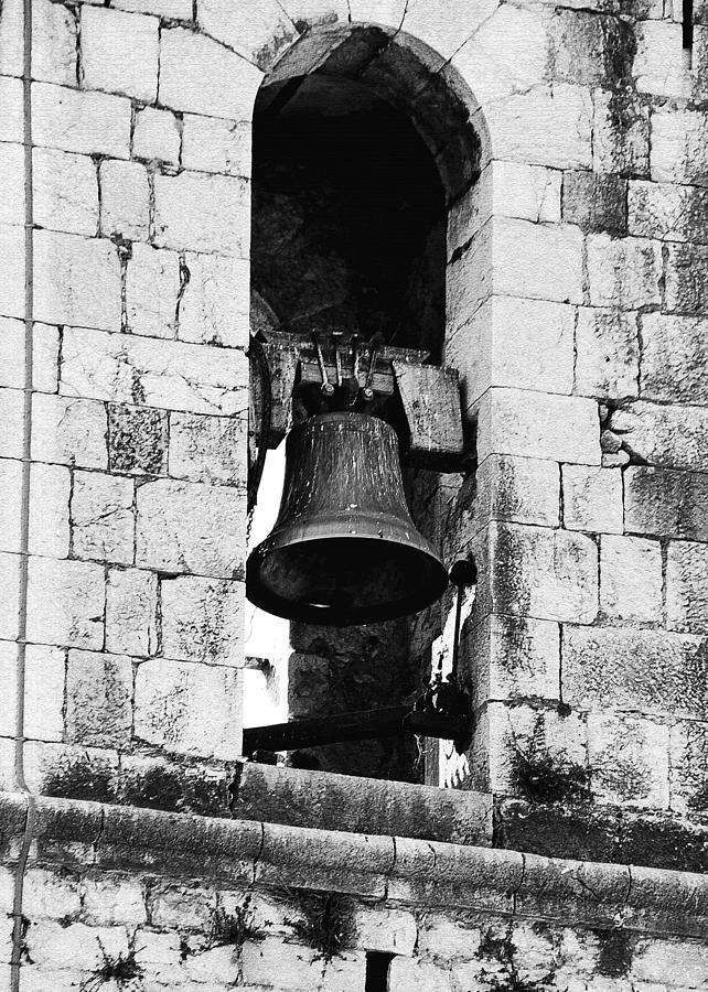 Monastery Photograph - Bell Tower Valbonne Abbey by Christine Till