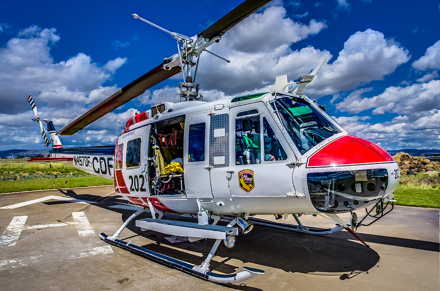 202 Photograph - Bell Uh-1super Huey Close-up by Scott McGuire