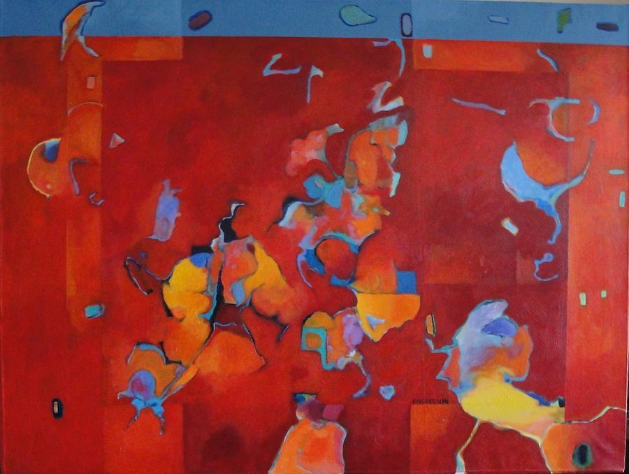 Abstract Painting - Bella Soledad by Bernard Goodman